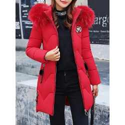 Berrylook Hooded Plain Coat clothing stores, stores and shops, plain Coats, womens jackets sale, white coat womens