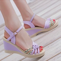Berrylook Color Block High Heeled Ankle Strap Peep Toe Date Office Sandals clothing stores, online stores, found on Bargain Bro India from Berrylook for $17.95