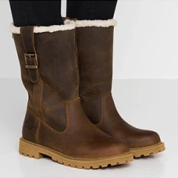 Berrylook Thick warm wool boots thick snow boots round head boots large cotton women's boots online shop, clothing stores,