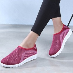 Berrylook Color Block Flat Round Toe Casual Sport Sneakers clothes shopping near me, cheap online shopping sites, found on Bargain Bro Philippines from Berrylook for $9.95
