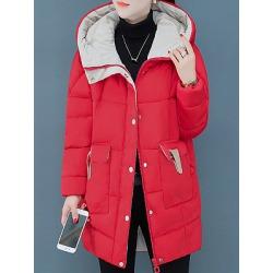 Berrylook Hooded Plain Coat clothing stores, sale, plain Coats, womens casual jackets, womens light jacket