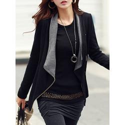 Berrylook Lapel Pocket Zips Blazer clothes shopping near me shop velvet blazer womens blazers for women