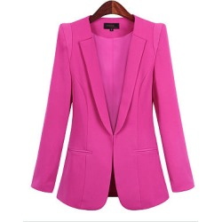 Berrylook Fashion Long Sleeve Lapel Blazer cheap online shopping sites, clothing stores, wool blazer womens, velvet blazer womens