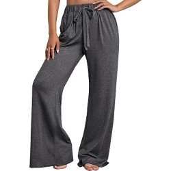 Berrylook New autumn and winter new high waist pocket loose straight trousers online sale, sale, Solid Casual Pants,
