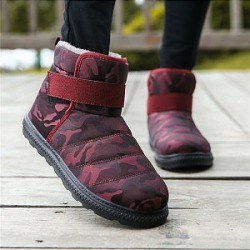 Berrylook Casual warm non-slip flat snow boots shoppers stop, online shop, Camouflage Boots,