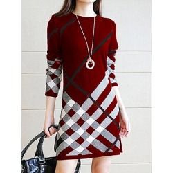 Berrylook Round Neck Printed Shift Dress sale, stores and shops, printed Shift Dresses, sleeveless shift dress, womens linen clothing