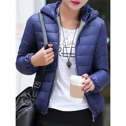 Berrylook Hooded Plain Long Sleeve Coat shoping, online sale, warm jackets for women, spring jacket womens