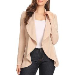 Berrylook Fold Over Collar Plain Blazers clothes shopping near me cheap online stores plain Blazers plaid blazer womens fitted blazer womens