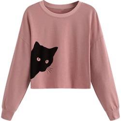 Berrylook Casual Plain Shoulder Sleeve Long Sleeve Sweatshirt clothing stores, sale, black hoodie womens, women's sweatshirts