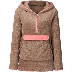 Berrylook Casual Plain Long Sleeve Hoodie online shop, fashion store, plain Hoodies, zip hoodie, hooded sweatshirt