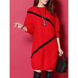 Berrylook Round Neck Printed Shift Dress sale, online sale, shirt dress, semi formal dresses found on MODAPINS from Berrylook for USD $13.95