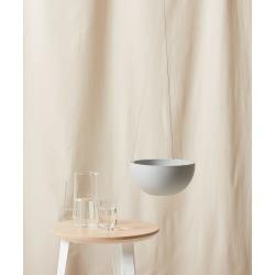 "Ecopots Hanging Pot - Medium (11"") Stone"