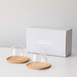 Blue Bottle Coffee x Kinto — Cafe Cup & Saucer for Two