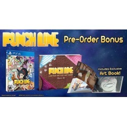 PUNCHLINE (PlayStation 4, PS4) New With Artbook found on Bargain Bro India from Newegg Business for $50.44