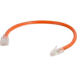 Cables To Go 04197 8 ft. Cat6 Non-Booted Unshielded-UTP Ethernet Network Patch Cable - Orange