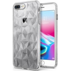 Ringke AIR Prism Compatible with Apple iPhone 7 Plus, iPhone 8 Plus Phone Case Slim 3D Design Lightweight Bling Stylish Protective TPU Drop.
