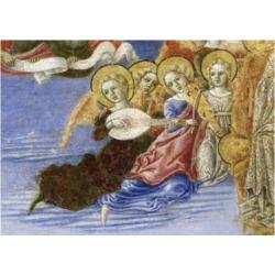Posterazzi SAL263399 Ascension of the Virgin Predella Detail 1466 Benvenuto di Giovanni Guasta 1436-1518 Italian Tempera on Wood Panel Pinacoteca.