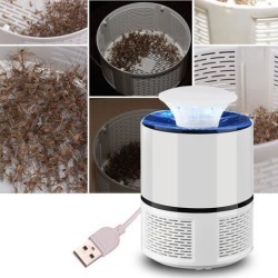 Electronic Mosquito Killer Photocatalyst Light Bug Insect Catcher USB Power Non-radiation Mosquito Trap With Suction Fan