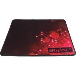 ENHANCE Pro Gaming Mouse Pad Extended Red - Precision Tracking Surface, Non-Slip Base and Anti-Fray Stitching
