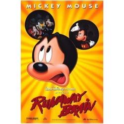 Runaway Brain Movie Poster (27 x 40)