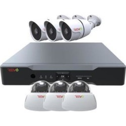 Revo America RAJ82VD3GB3G-1T Aero HD 1080p 8 Channel Surveillance System with 6 Indoor & Outdoor Cameras found on Bargain Bro India from Newegg Business for $351.35