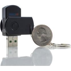 Enhanced Surveillance Mini Dvr Rechargeable Spy Hidden Camera With Usb w/ 5GB MicroSD