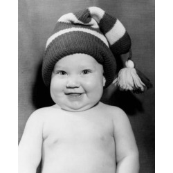 Posterazzi SAL2559433 Portrait of a Baby Boy Smiling Poster Print - 18 x 24 in.