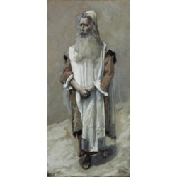 Posterazzi SAL999127 Moses James Tissot 1836-1902 French Jewish Museum New York Poster Print - 18 x 24 in.