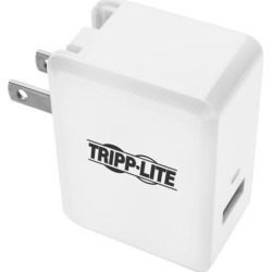 Tripp Lite U280-W01-QC3 1-Port Quick Charge 3.0 Usb Wall / Travel Charger With Autosensing - Power Adapter - 3 A (Usb (Power Only) ) - White -