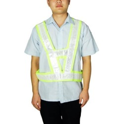 Unique Bargains Unique Bargains High Visibility Safety Security Vest Waistcoat w Reflective Belts found on Bargain Bro India from Newegg Canada for $10.98