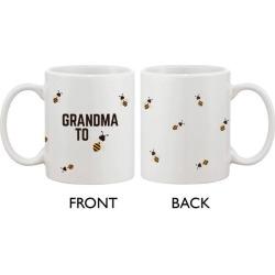 Grandma To Bee Funny Coffee Mug Cute Design Printed Best Gift For Grandmother