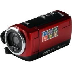 "Mini DV 16MP High Definition Digital Video Camcorder DVR 2.7"" TFT LCD 16x Zoom 1280 x 720p HD Video Recorder Camera-Red black"