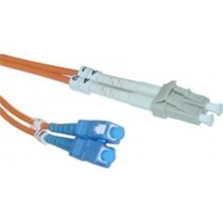 CableWholesale LCSC-11103 Fiber Optic Cable LC SC Multimode Duplex 62.5-125 3 meter (10 foot)