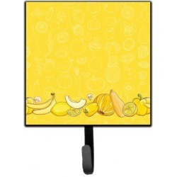 Fruits and Vegetables in Yellow Leash or Key Holder BB5134SH4