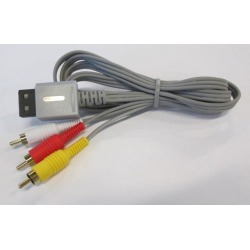 RCA AV Cable for Nintendo Wii by Mars Devices