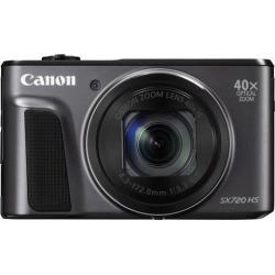 Canon PowerShot SX720 HS Digital Camera (Black)