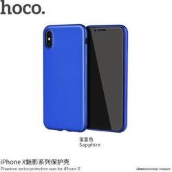 HOCO Phantom series protective case for iPHONE X Blue