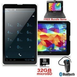 Indigi® Phablet 2-in-1 SmartPhone 3G + WiFi Tablet PC 7' LCD Android 4.4 - FREE BUNDLE!