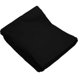 10x20 Black Muslin Backdrop Photo Studio Photography Background Sewn in Sleeve