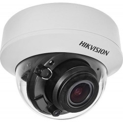 Hikvision DS-2CE56F7T-AITZ Analog Camera, EXIR Dome,3mp Day/Night, Indoor, 2052 x 1536 Resolution, F1.2 Motorized Varifocal 2.8 to 12 MM Lens, 24