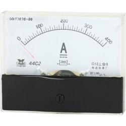 Unique Bargains Analog Panel Ammeter Gauge DC 0 - 400A Measuring Range 1.5 Accuracy 44C2