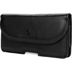 Voyage Executive Wallet Belt Clip Wallet Case fits 6 inch Huawei Phones