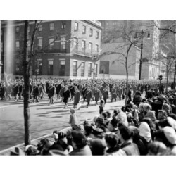 Posterazzi SAL255422458 USA New York City St. Patrick Day Parade Poster Print - 18 x 24 in.