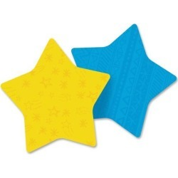 3M Post-it Star and Heart-shaped Note Pads