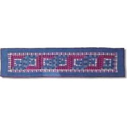 Patch Magic TRRLC-S Red Log Cabin, Table Runner Small 54 x 16 in.