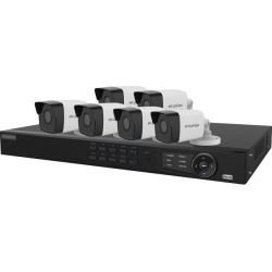 LaView LV-KN988P86A4 Premium IP Surveillance System 8 Channel NVR + 6 x Full HD 1080P Day / Night In / Outdoor Cameras (No HDD Included, Sold found on Bargain Bro India from Newegg Canada for $1047.83