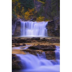 Posterazzi DPI1794804LARGE Johnston Canyon in Banff National Park Alberta Canada Poster Print by Carson Ganci, 22 x 34 - Large