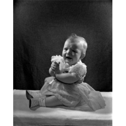 Posterazzi SAL2559132 Portrait of Unhappy Baby Girl Poster Print - 18 x 24 in.