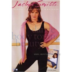 Posterazzi MOVIH4654 Jaclyn Smith Workout for Beauty & Balance Movie Poster - 27 x 40 in.