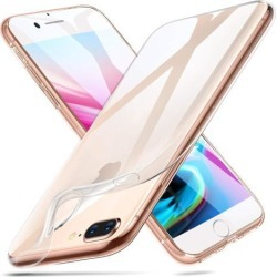 ESR iPhone 8 Plus Case, iPhone 7 Plus Case, Slim Clear Soft TPU Cover [Support Wireless Charging] for Apple 5.5' iPhone 8 Plus (2017 Release)/iPhone 7